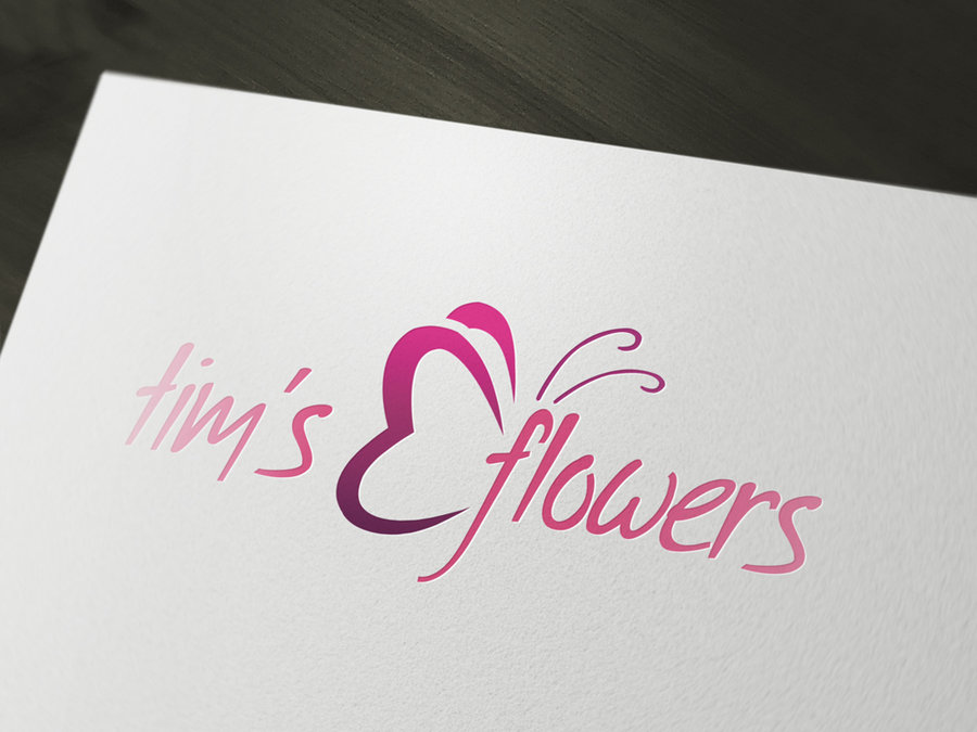 Flower Shop Logo Design Templates Free