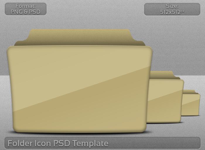Folder Icon Template