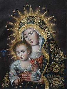 11 Cuzco Religious Icon Madonna Images