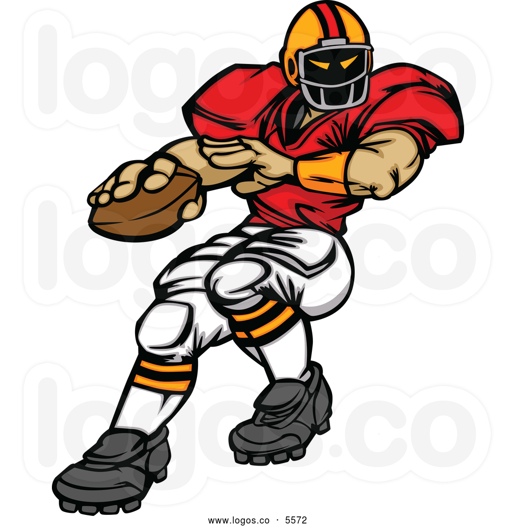 Football Player Clip Art Free