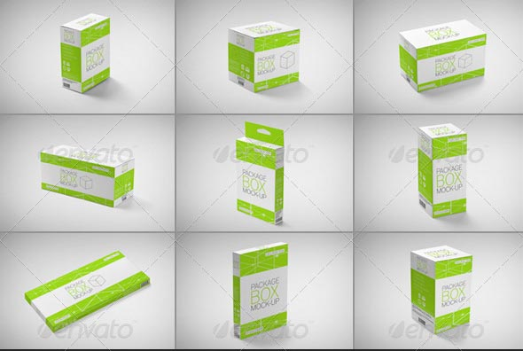 Free Box Mock Up Packaging