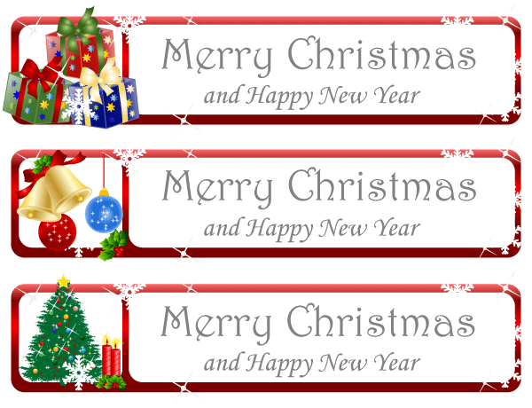 11 Free Christmas Vector Banners Images