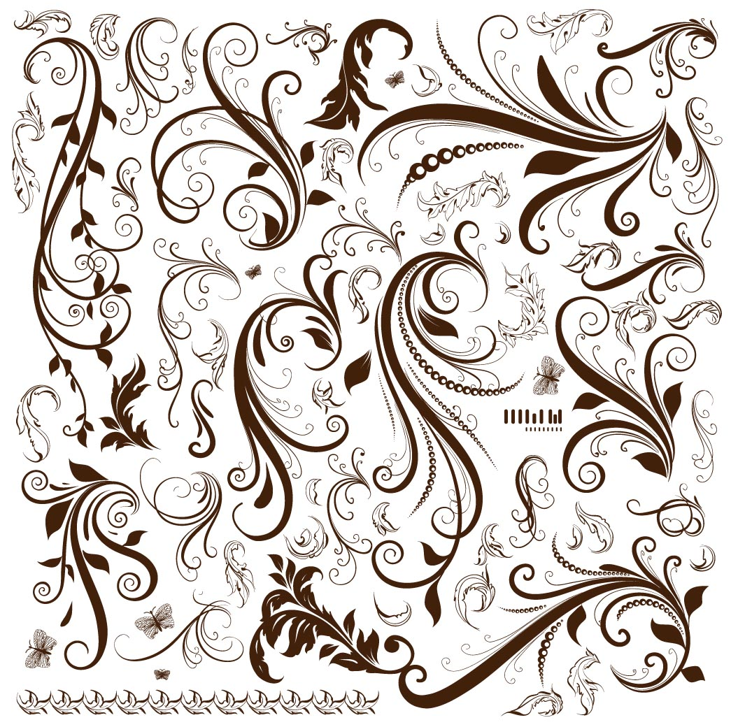 Free Clip Art Flourish Vectors