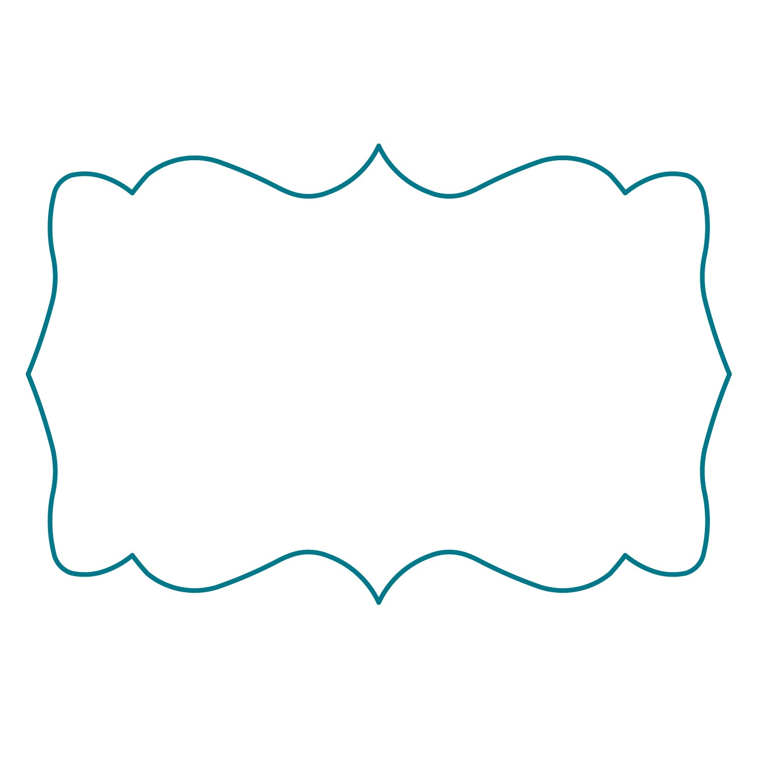 Free Label Shapes Template