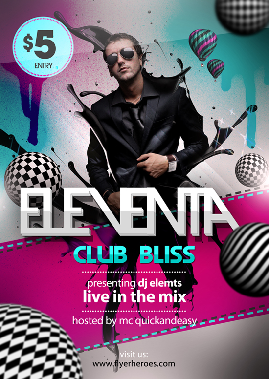 Free Party Flyer Templates Photoshop