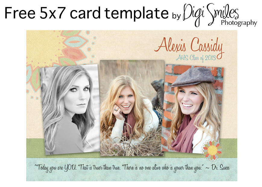 Free Photoshop Templates for Photographers