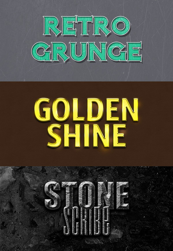 Free Photoshop Text Effects PSD Files