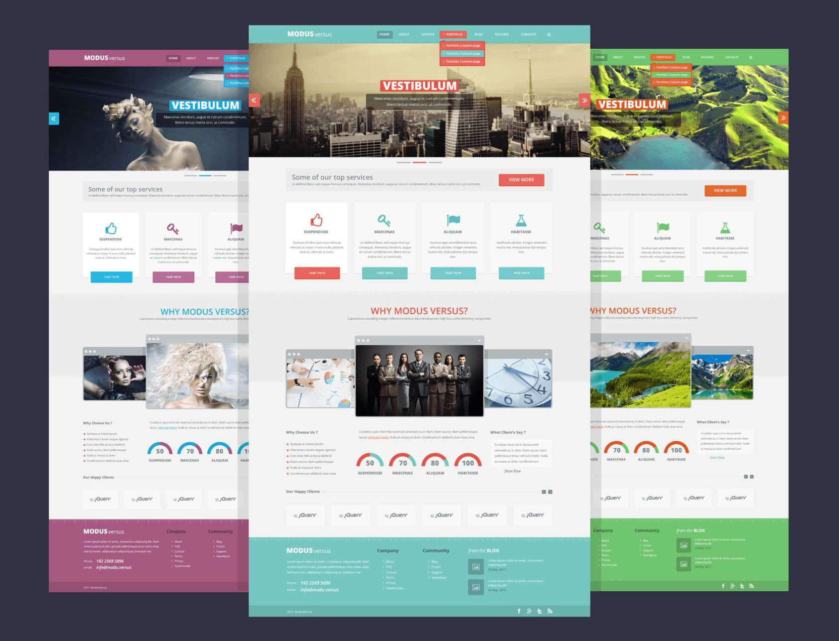 Free PSD Web Design Templates