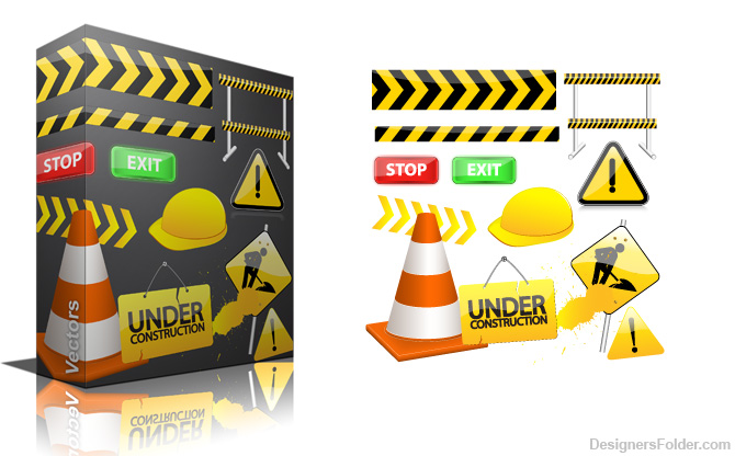 Free Under Construction Vector