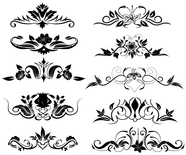 Free Vector Flourish Download