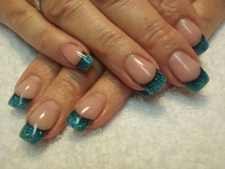 French Tip Nail Designs 2014