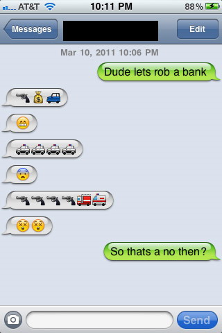 10 Funny Emoticons Text Conversations Images