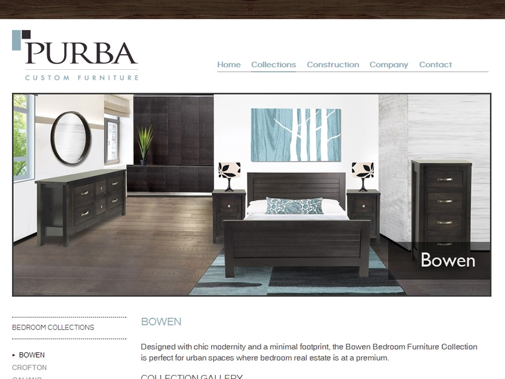Furniture Company Website Designs