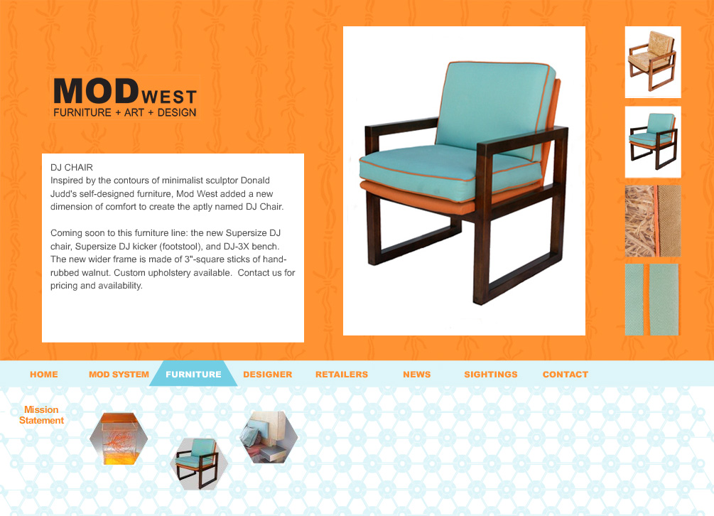 Furniture Design Portfolio
