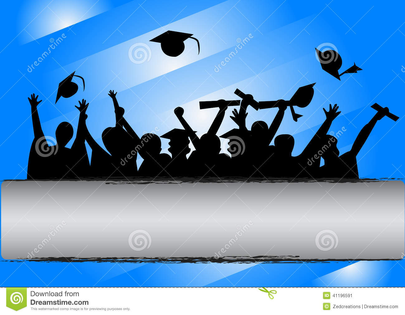 18 Blue Graduation Background Vector Images - Free Vector ...