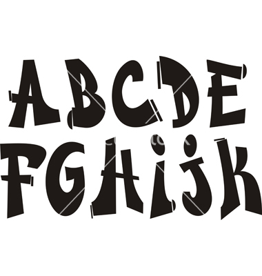 Graffiti Alphabet Fonts Free