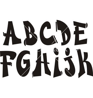 Graffiti Alphabet Fonts Free