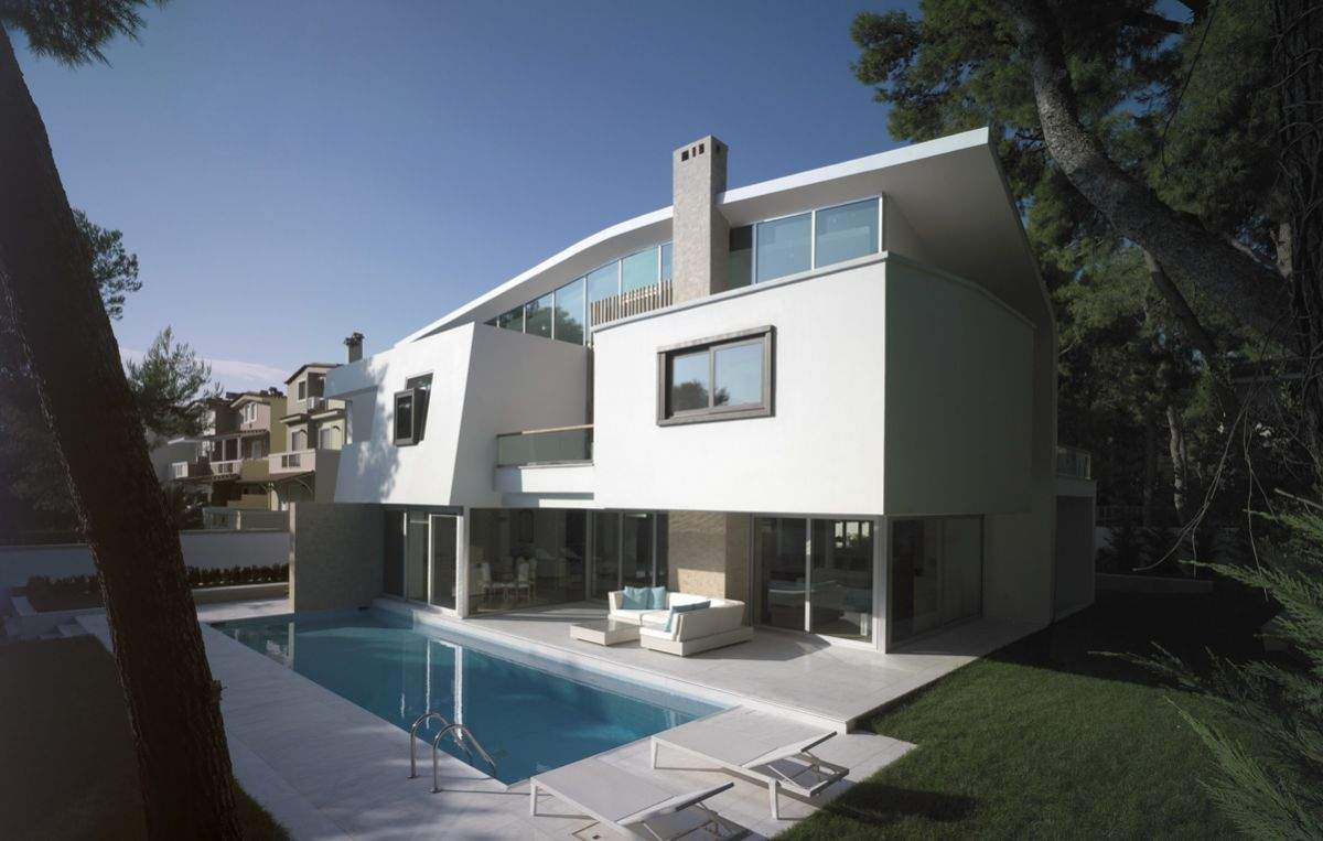 Greece Modern Architecture Design
