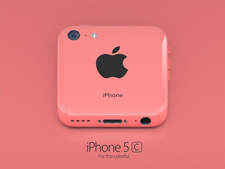 Green iPhone 5C Icon