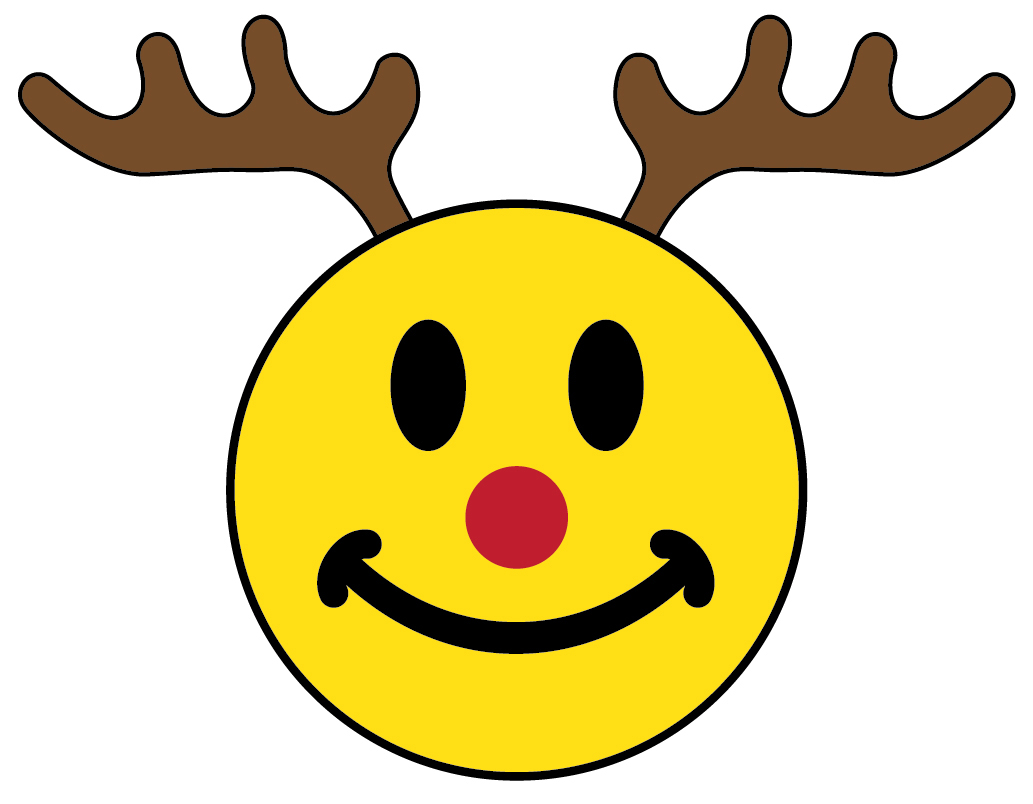 Happy Smiley Face Christmas