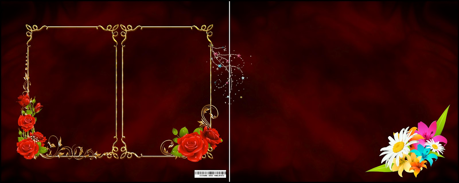 5 12X30 Album Karizma PSD Free Download Images