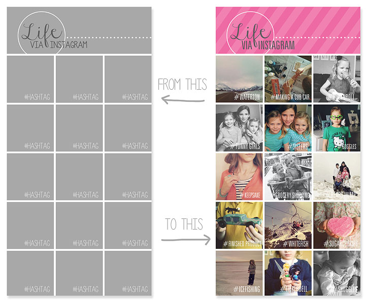 Instagram Collage Templates