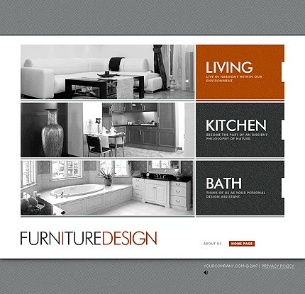 Interior Design Portfolio Templates