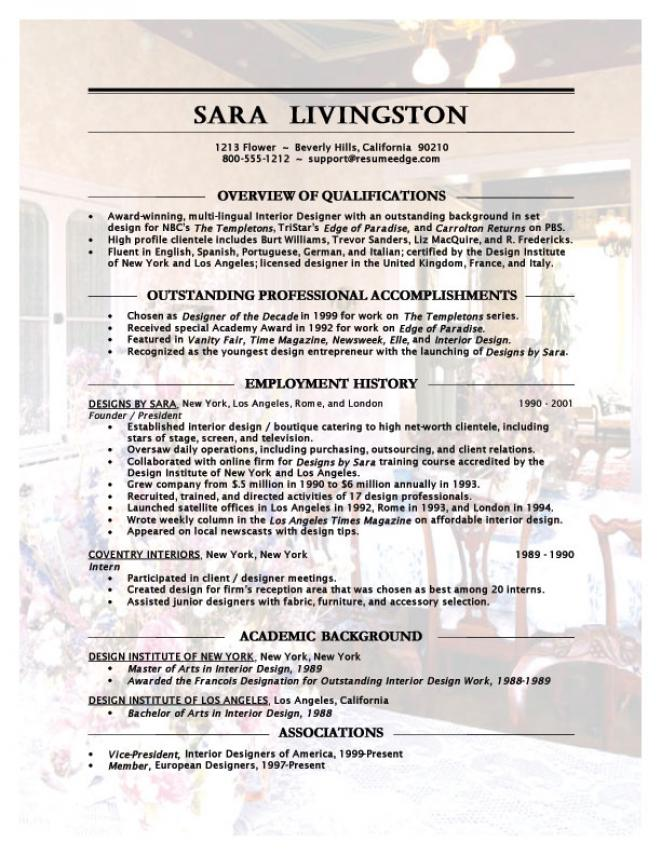 Cover Letter For Junior Interior Designer - Cover Letter Examples