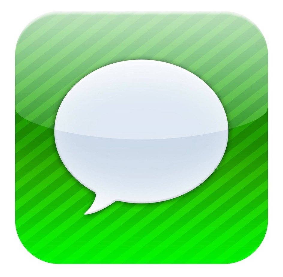 iPhone App Icons Messages
