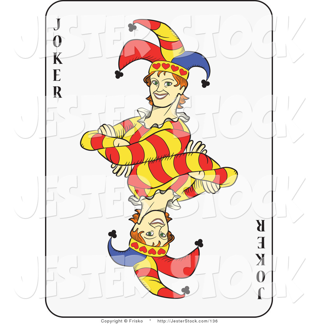Joker Playing Card Clip Art