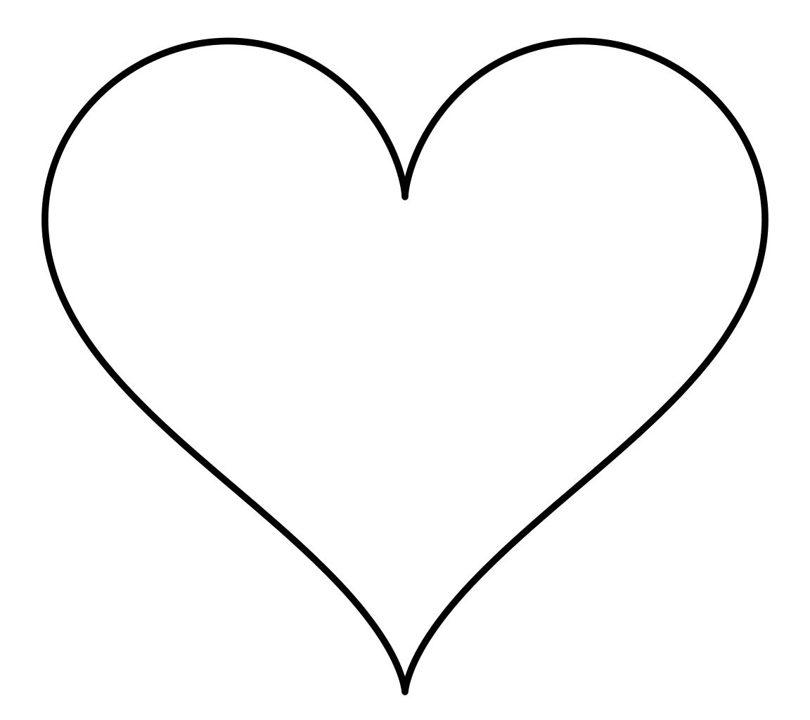 Love Heart Shapes