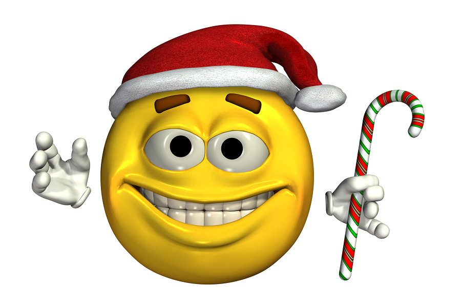 Merry Christmas Smiley Faces
