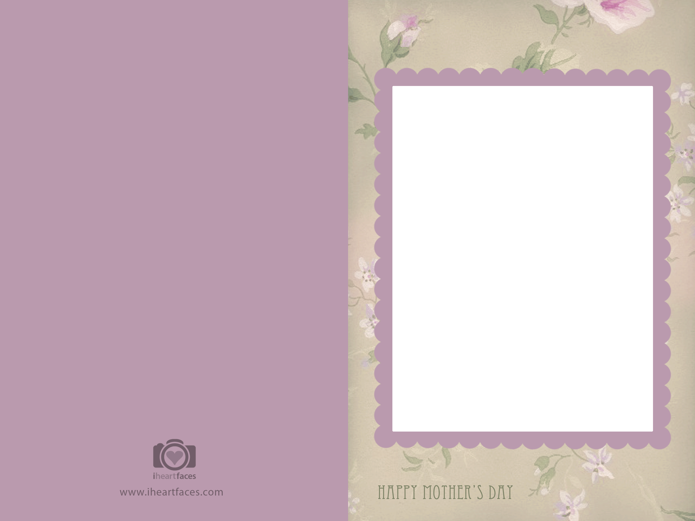 greeting card blank template