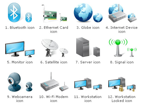 Network Icons Free