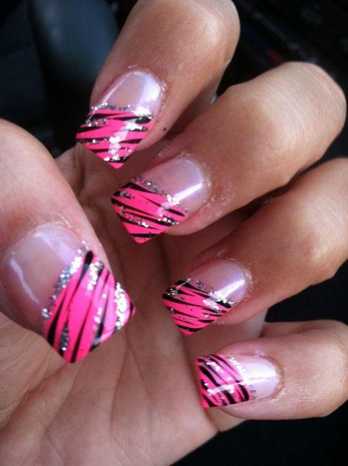 14 Acrylic Nail Art Designs 2014 Images