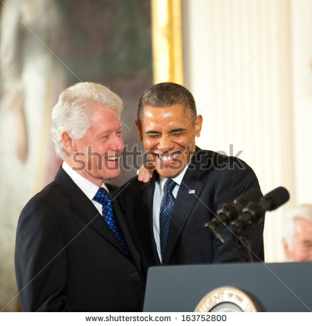 President Bill Clinton Laughing