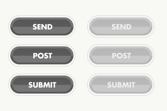 PSD Button Templates