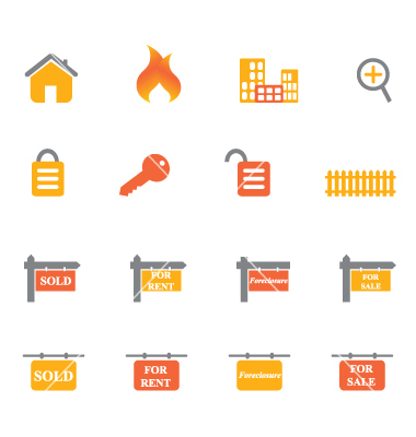 Real Estate Vector Icons