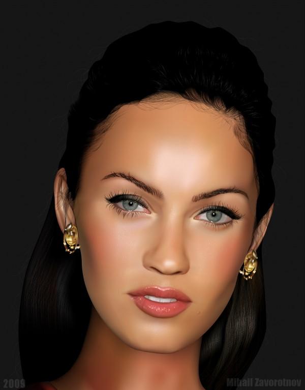 Realistic Vector Portraits