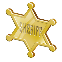 Sheriff Badge Clip Art