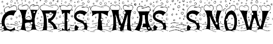 Snow Font Free Download