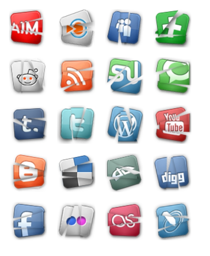 Social Media Icon Images Free