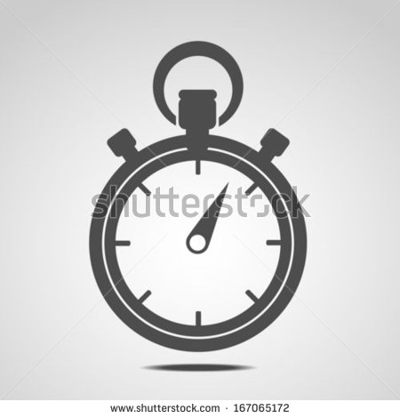 10 Stopwatch Icon Vector Images