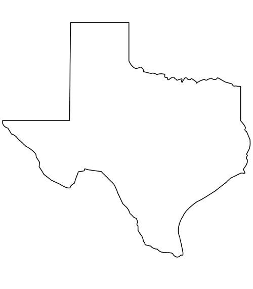Texas Shape Outline