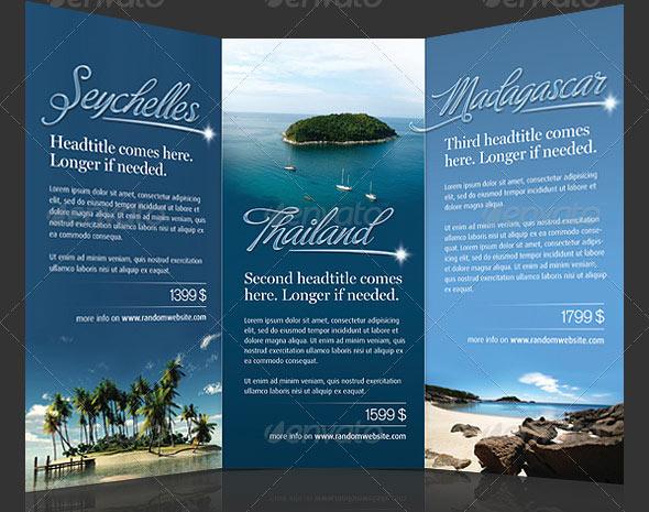 14 Tourism Brochure Design Images