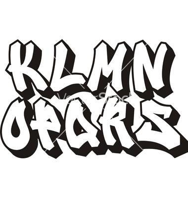 Vector Graffiti Fonts Free Download