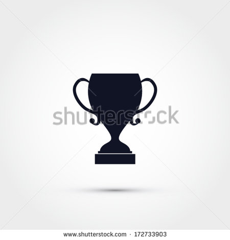 14 White Trophy Icon Vector Images