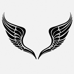7 Tribal Wings Vector Images