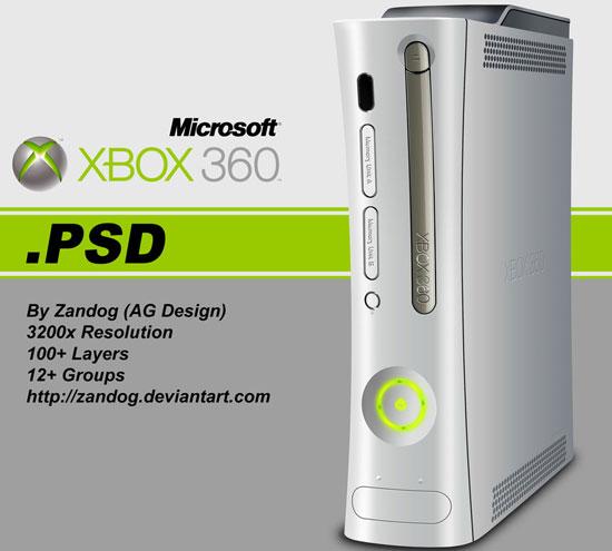 Xbox 360 Console Template