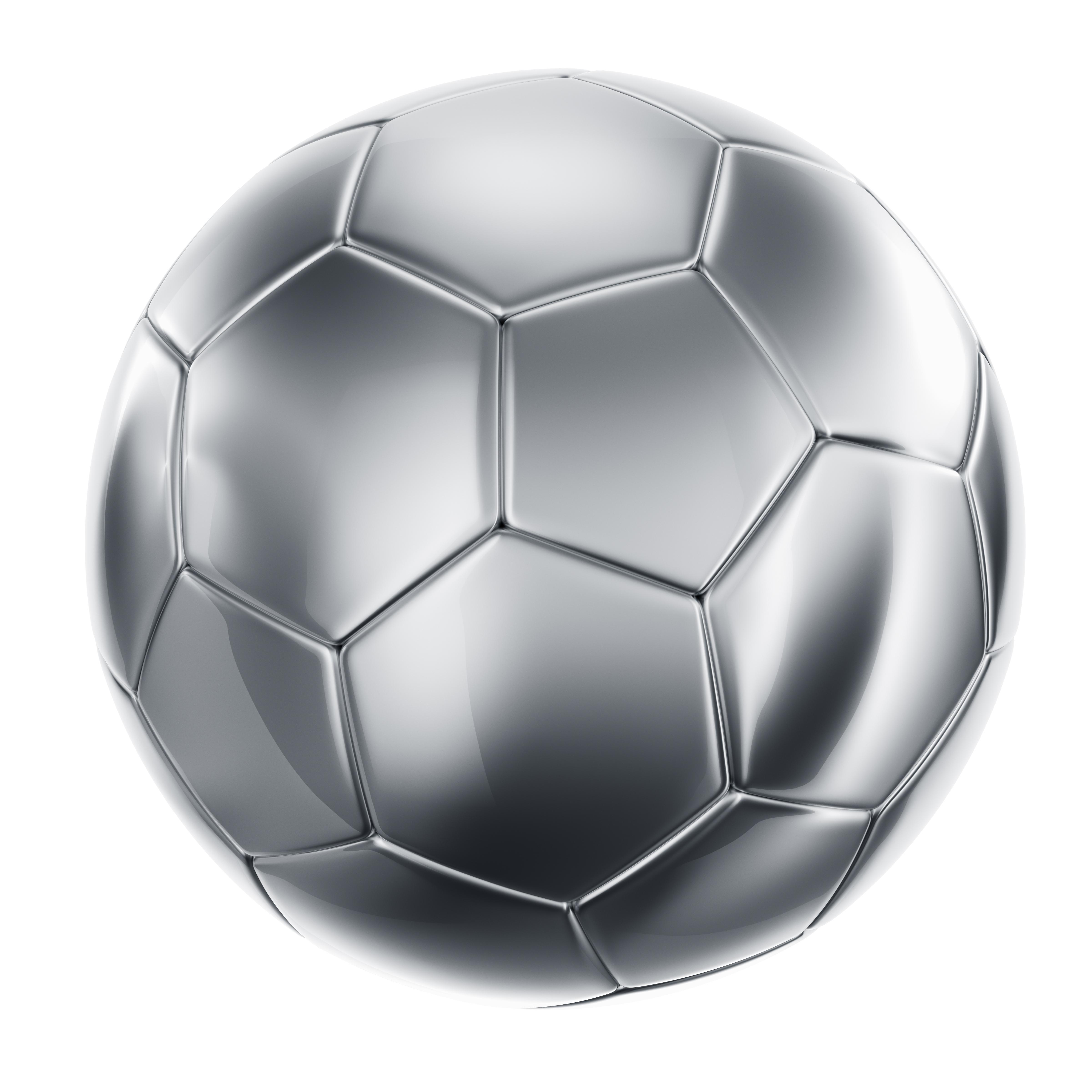 3D Soccer Ball Vector